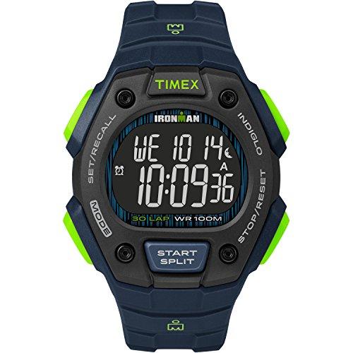 Timex Men's TW5M18800 Ironman Classic 30 Blue/Lim...
