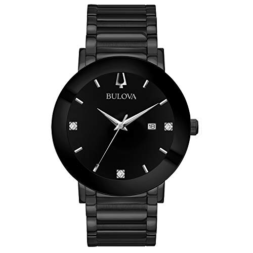 Bulova Men's Modern Quartz Watch with Stainless-S...