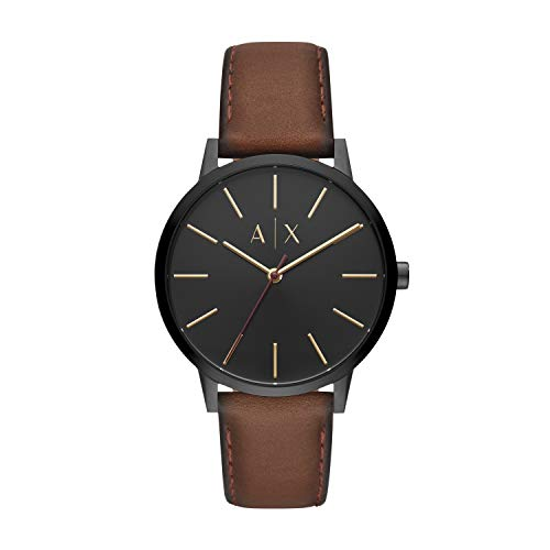 Armani Exchange Men's Cayde Stainless Steel Analo...