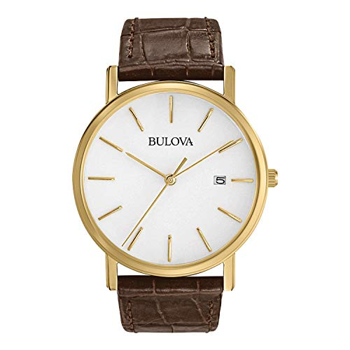 Bulova Men's 97B100 Classic Gold-Tone Stainless S...