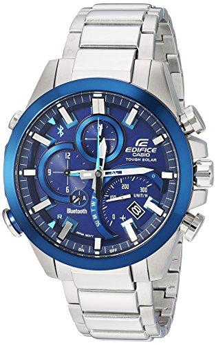 Casio Men's Edifice Solar Connected Quartz Watch ...