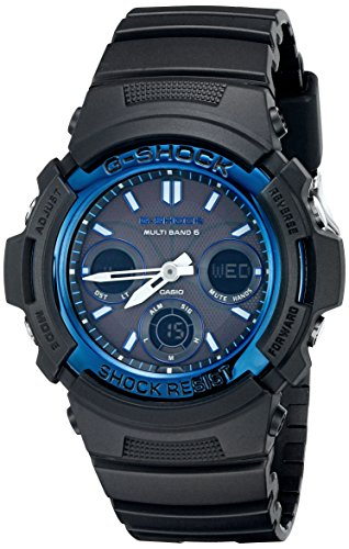 Casio Men's G-Shock AWGM100A-1A Tough Solar Black...