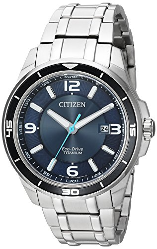 Citizen Men's ' Quartz Titanium Casual Watch, Col...