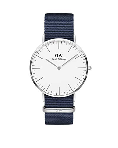 Daniel Wellington Classic Bayswater Silver Watch,...