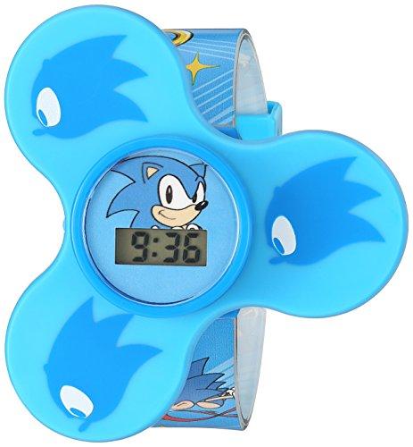 Sonic the Hedgehog Quartz Plastic Strap, Blue, 15...