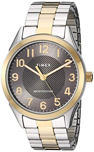 Timex Men's TW2T45900 Briarwood 40mm Two-Tone/Bla...