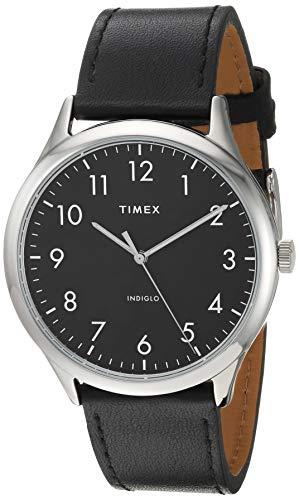 Timex Men's TW2T71900 Modern Easy Reader 40mm Bla...