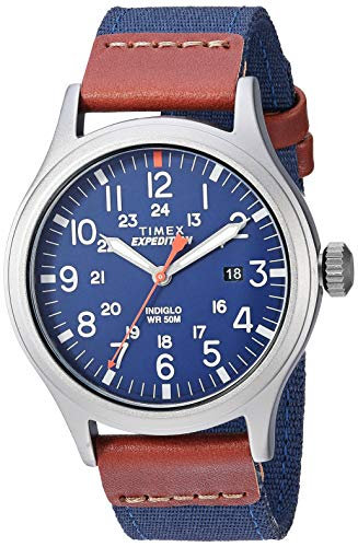 Timex Men's TW4B14100 Expedition Scout 40mm Blue/...