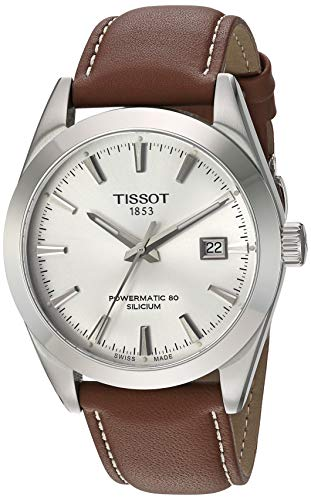Tissot Mens Gentleman Swiss Automatic Stainless S...