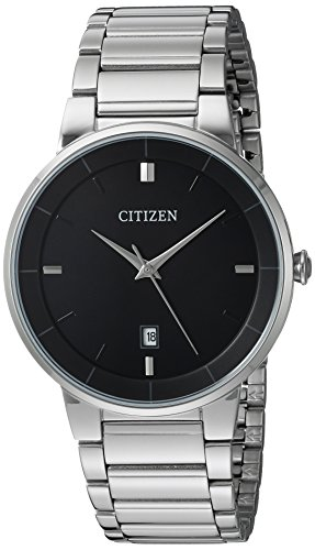 Citizen Men's Quartz Stainless Steel Watch, BI501...