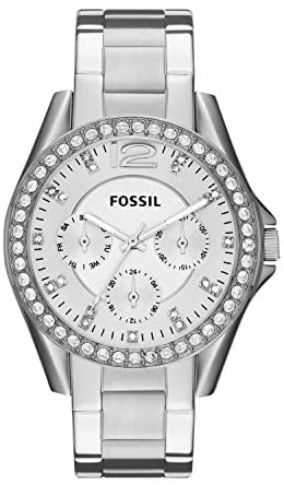 Fossil Women's Riley Stainless Steel Chronograph ...