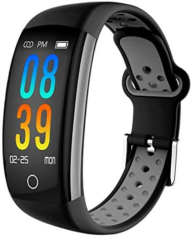 IP68 Fitness Tracker Blood Pressure Heat Rate Mon...