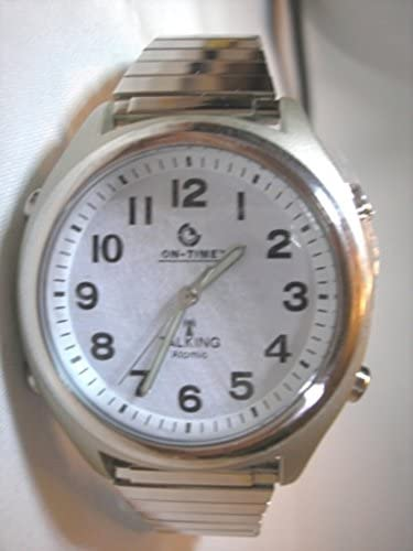 ATOMIC! Talking Wrist Watch with Deluxe Shinny Ba...
