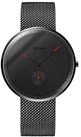 BREAK Men's Quartz Watches Large Face Watch and W...