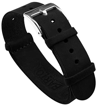 Barton Leather NATO Style Watch Straps - Choose C...
