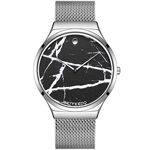 Betfeedo Men's Wrist Watches Ultra-Thin Quartz An...
