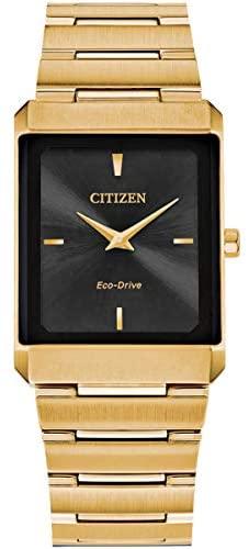 Citizen AR3102-51E Unisex Stiletto Eco Drive Blac...