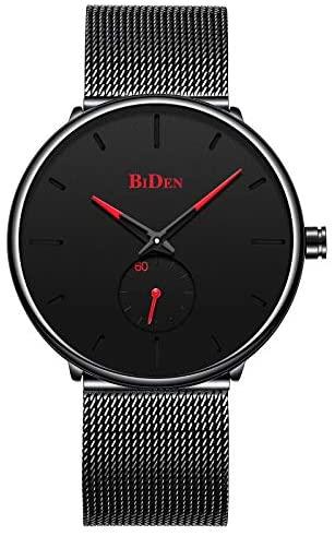 Men Watches,Ultra-Thin Minimalist Wrist Watch,Sta...