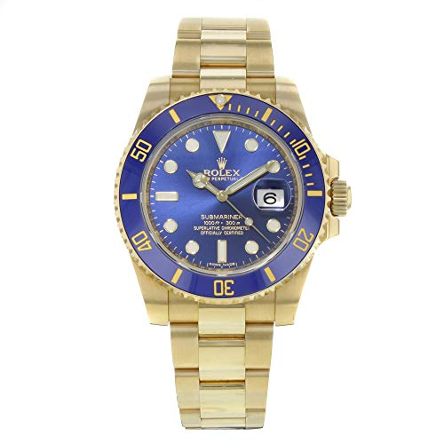 Rolex Men's Submariner Automatic Blue Dial Oyster...