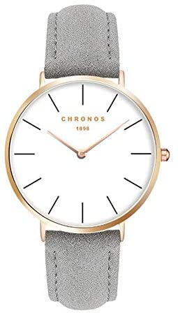 Simple Couples Quartz Watch,Fashion Women Men Uni...