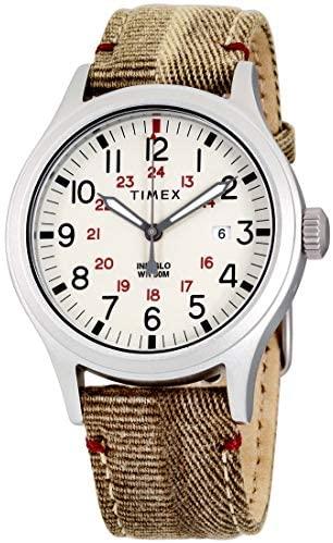 Timex Allied Quartz Movement Natural Dial Men's W...