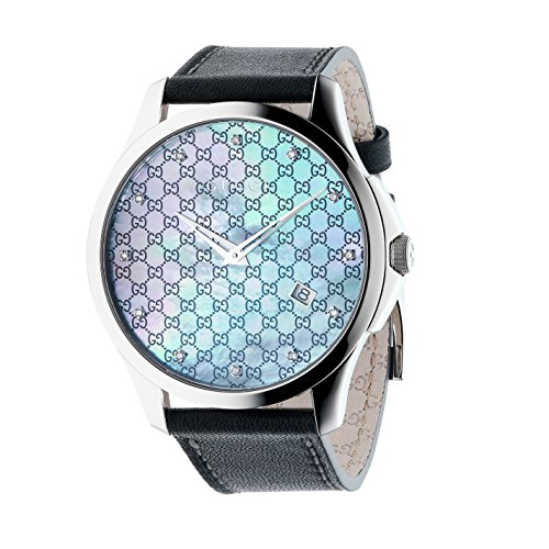 Gucci Unisex G-Timeless 40mm Leather Strap Watch ...