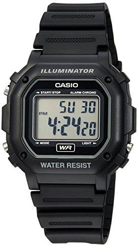 Casio Men's F108WH Illuminator Collection Black R...