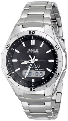 Casio Men's WVA-M640D-1ACR Wave Ceptor Analog-Dig...
