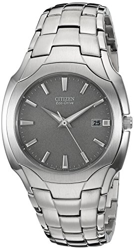Citizen Men's Eco-Drive Stainless Steel Watch wit...