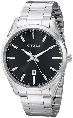 Citizen Men's Quartz Stainless Steel Watch with D...
