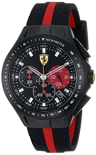 Ferrari Men's 0830023 Race Day Analog Display Qua...