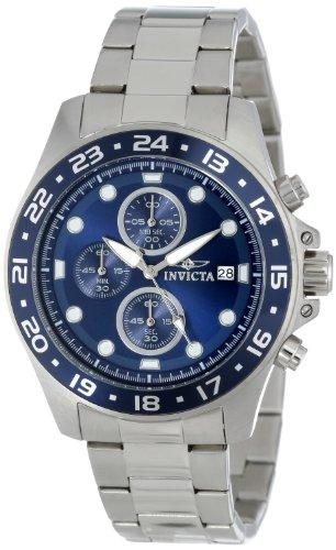 Invicta Men's 15205 Pro Diver Chronograph Blue Di...