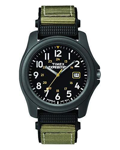 Timex Men's T42571 Expedition Camper Gray Nylon S...