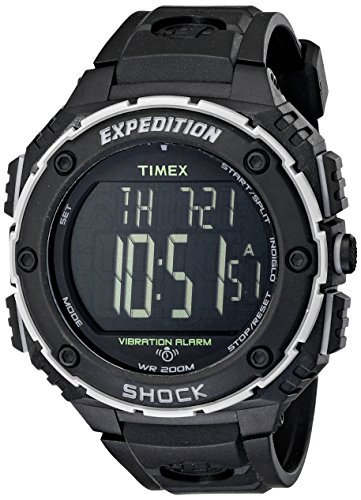 Timex Men's T49950 Expedition Shock XL Vibrating ...