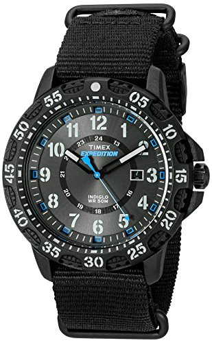 Timex Men's TW4B03500 Expedition Gallatin Black/B...