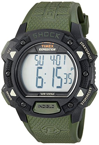 Timex Men's TW4B09300 Expedition Base Shock Green...