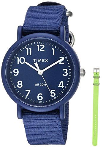Timex Unisex TWG018400 Weekender Color Rush Navy/...