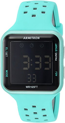Armitron Sport Unisex 40/8417LBL Grey Accented Di...