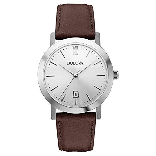 Bulova Unisex 96B217 Stainless Steel Watch with B...