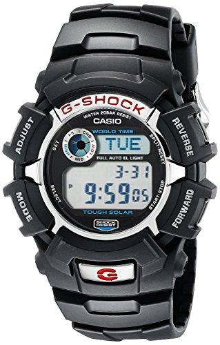 Casio G-Shock G2310R-1 Men's Solar Black Resin Sp...