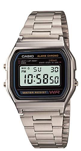 Casio Men's A158WA-1 Water Resistant Digital Watc...