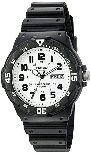 Casio Men's 'Classic' Quartz Resin Watch, Color:B...