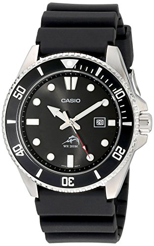 Casio Men's MDV106-1AV 200M Duro Analog Watch, Bl...
