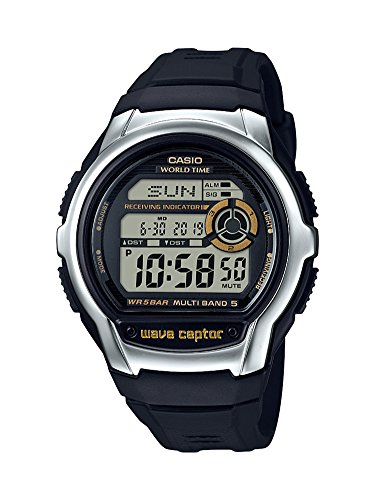 Casio Men's 'Wave Cepto' Quartz Stainless Steel a...