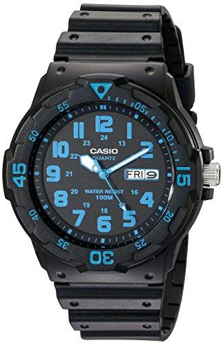 Casio Unisex MRW200H-2BV Neo-Display Black Watch ...