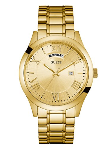 GUESS Men's Stainless Steel Casual Bracelet Watch...