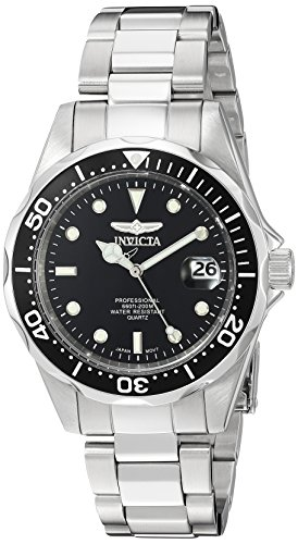 Invicta Men's 'Pro Diver' Quartz Stainless Steel ...