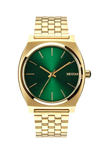 Nixon Time Teller A0451919-00. Gold and Green Wom...