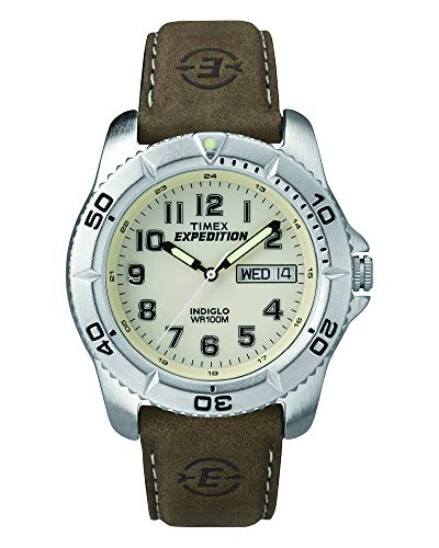 Timex Men's T46681 Expedition Traditional Brown L...