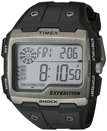 Timex Men's TW4B02500 Expedition Grid Shock Black...